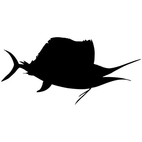 swordfish and sailfish vector eps