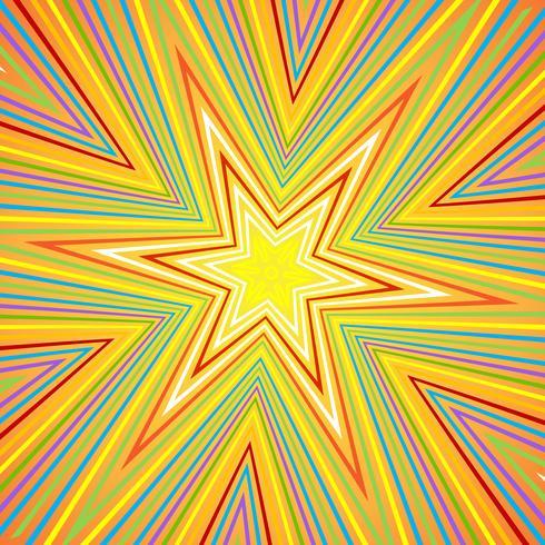 Starburst Hintergrund