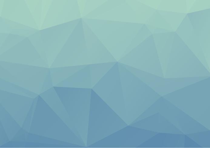 Luz azul mosaico poligonal fundo, ilustração vetorial, modelos de Design de negócios