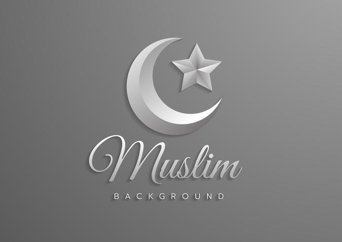 Islamitisch vectorontwerp, pictogram