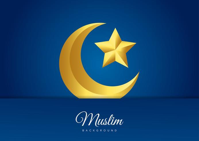 Islamisches Vektordesign