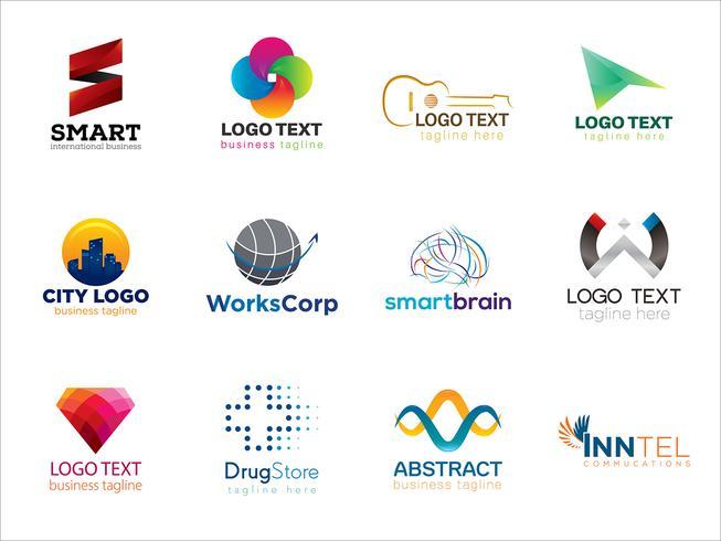 Veelzijdige logo-verzameling
