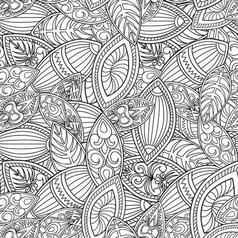 Abstract line seamless pattern. Tiled geometric background vector