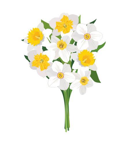Bloemen boeket. Bloemenlijst. Bloei wenskaart. Zomer decor