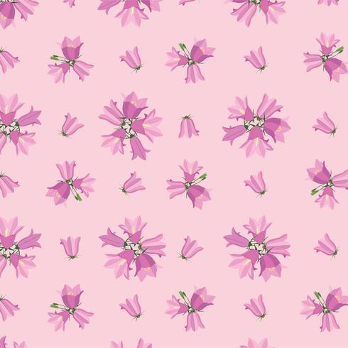 Padrão sem emenda floral. Fundo de flor.