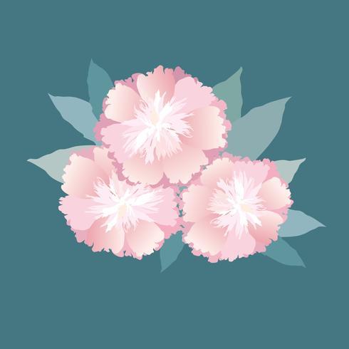 Bloemen geïsoleerd. Bloemen zomerboeket.