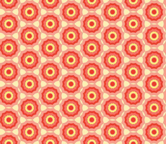 Patrón geométrico sin fisuras Fondo abstracto de la tela del remolino del ornamento vector