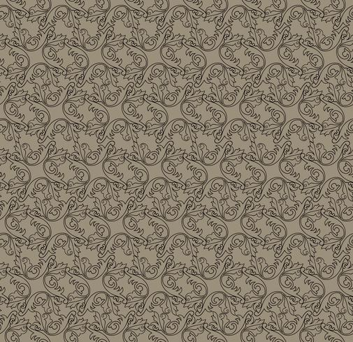 Swirl floral pattern. Abstract ornament. Brocade seamless background