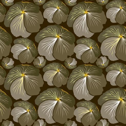 Naadloze bloemmotief. Bloem achtergrond. Bloei tuintextuur