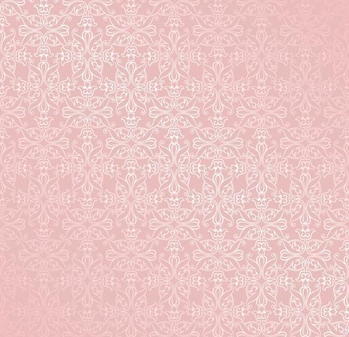 Swirl bloemmotief. Abstract ornament. Brocade naadloze achtergrond