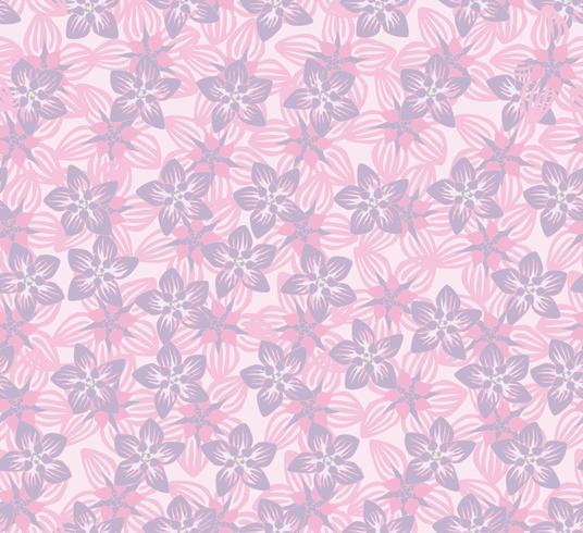 Patrón floral sin fisuras Fondo de la flor. Florecer la textura del jardín. vector