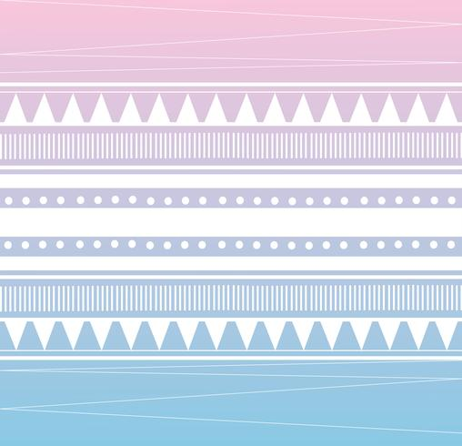 tribal pattern background vector