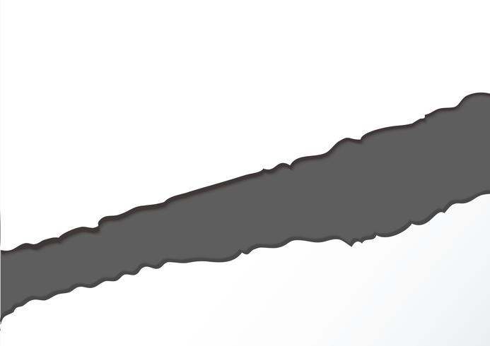 abstrait papier déchiré vecteur