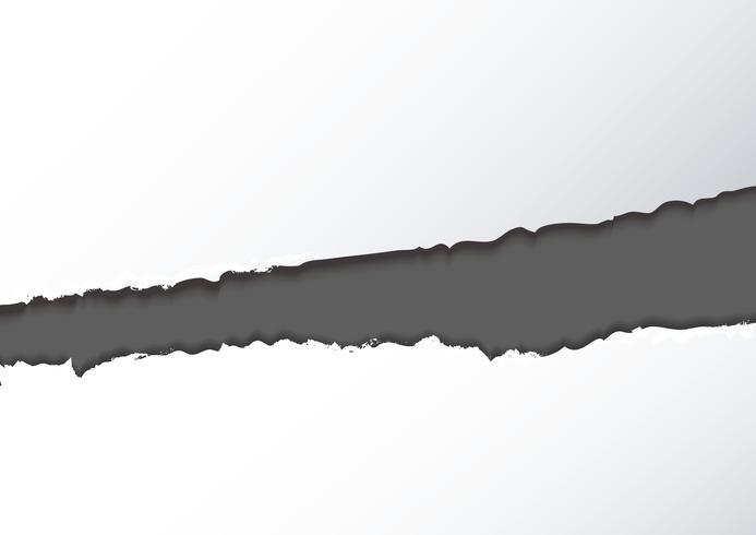 Fondo de papel rasgado abstracto vector