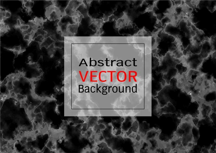 Textura de mármol negro de vector.