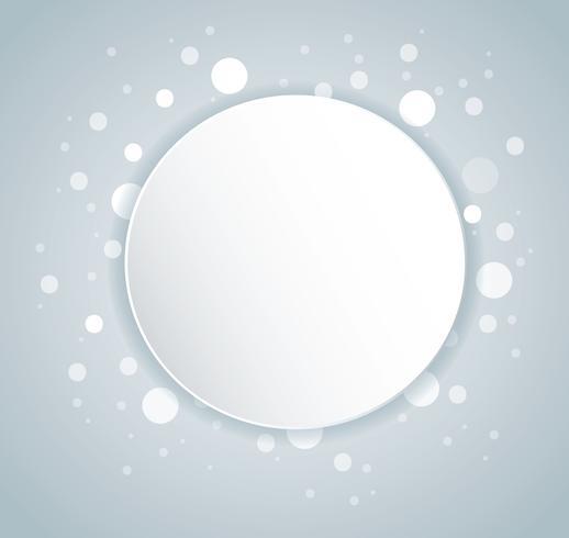 Abstrakt grå färg Cirkelbakgrund
