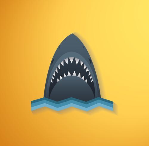 Illustration vectorielle de requin