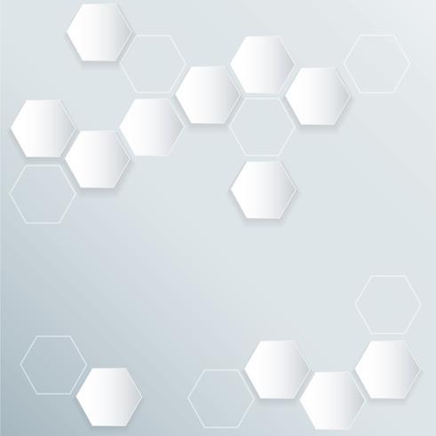 fond abstrait ruche d'abeille hexagonale