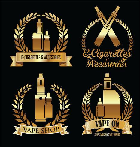 Elementi per la sigaretta elettronica del vapor bar e del vaporizzatore vettore
