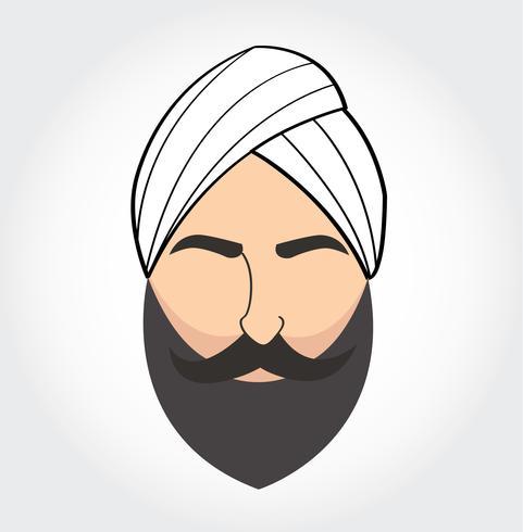Arab men symbol , Arabian vector icon
