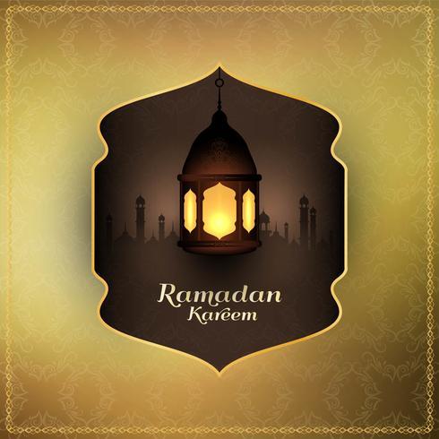 Abstrakt islamisk festival religiös bakgrund