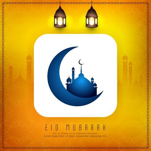 Abstracte islamitische festival religieuze achtergrond