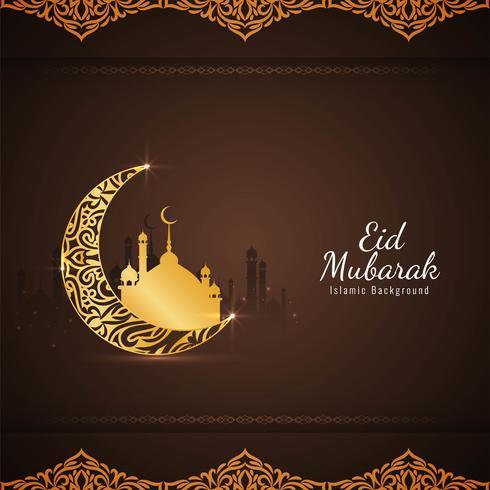 Abstrakter religiöser islamischer Hintergrund Eid Mubaraks