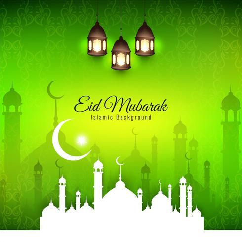 Abstrakter religiöser Hintergrund des islamischen Festivals