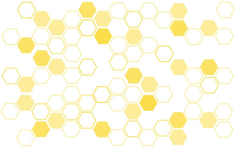 Fondo de la colmena de abejas