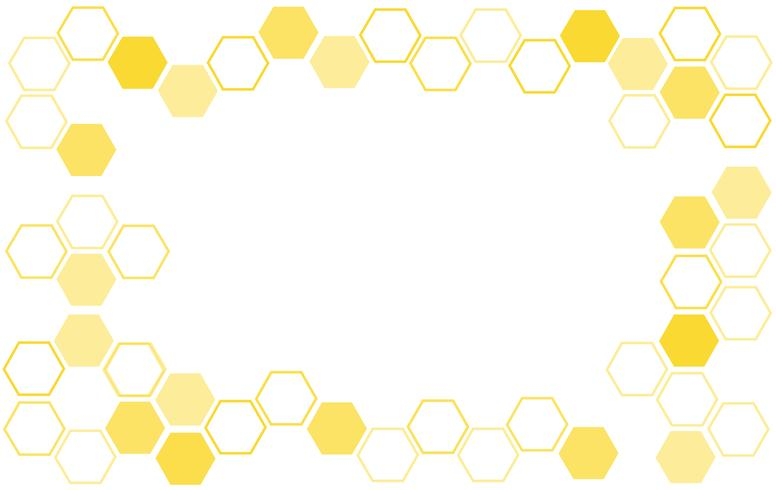 bee hive background  vector