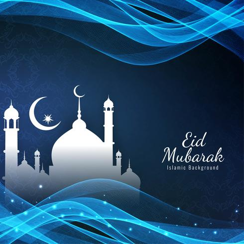 Abstract Islamic festival background