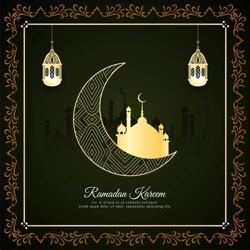 Abstracte islamitische festival achtergrond