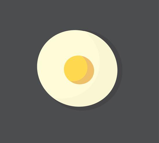 Stekt ägg vektor