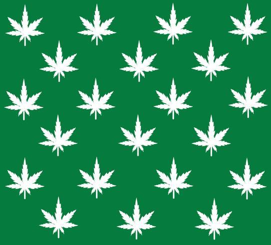 Vector de fondo de marihuana