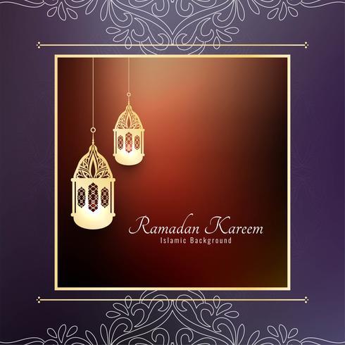 Priorità bassa islamica astratta del Ramadan Kareem