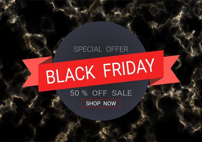 Black Friday sale inscription design template. vector