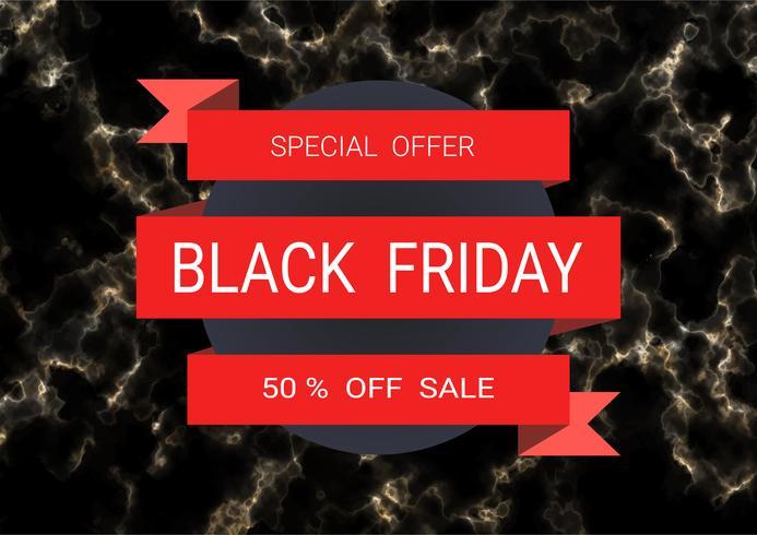 Modello di progettazione di iscrizione di vendita di Black Friday.