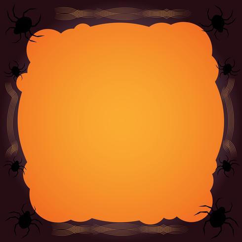 tela de araña fondo de halloween
