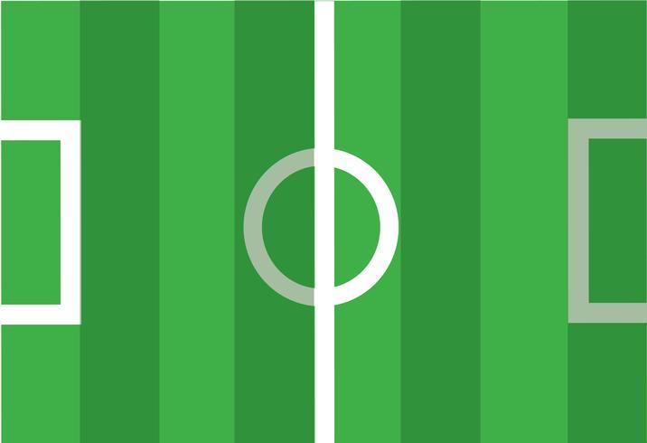 Fußballplatz Symbol Vektor