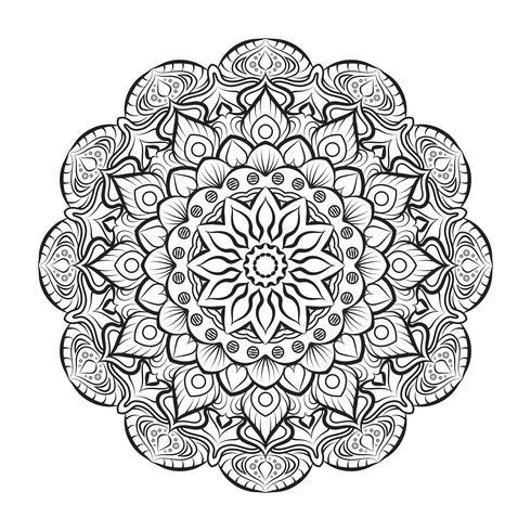 Schöne Mandala für Erwachsene Malbücher