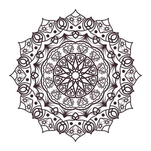 Mandala-Designs für Erwachsene Malbücher, Dekorationen usw.