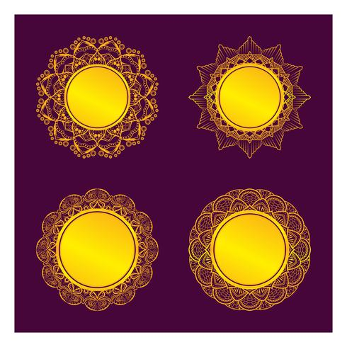 Golden mandala ramdesign