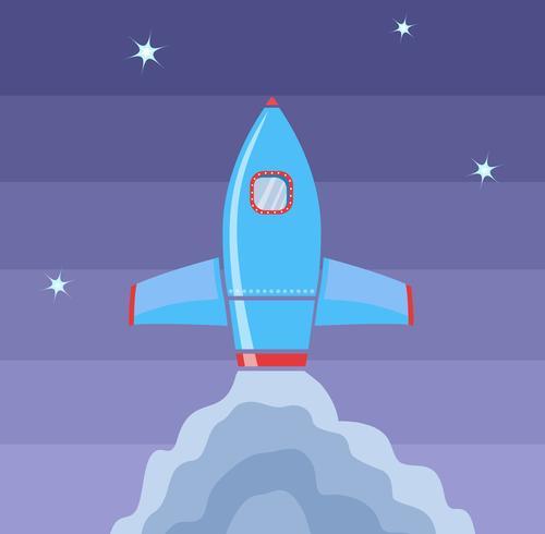 Espacio de cohete vector