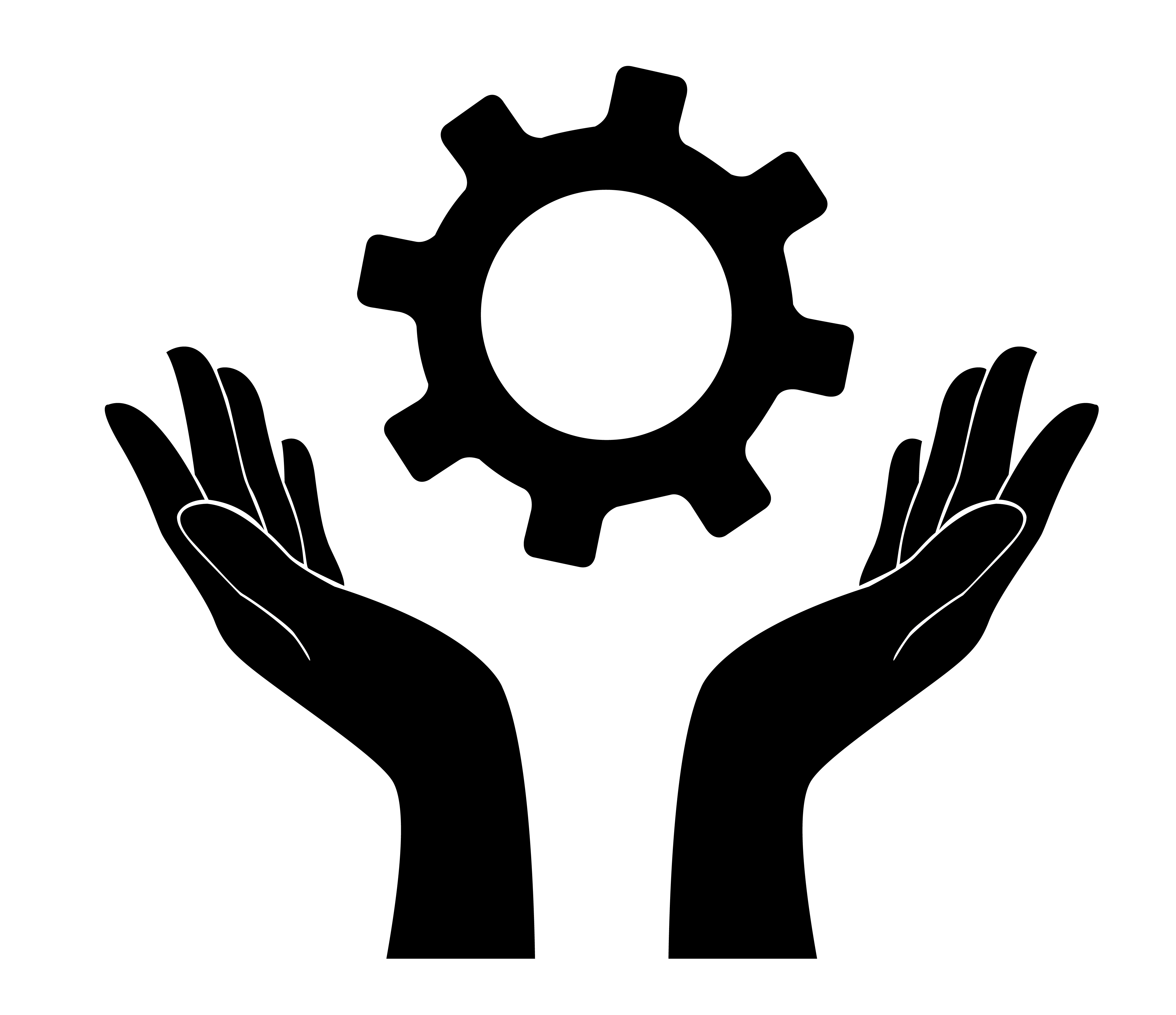hand holding gear , engineer symbol - Download Free ... | 4647 x 4008 jpeg 576kB