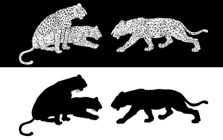 Gepard-Silhouette