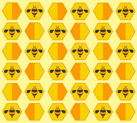 bee hive pastel cartoon background