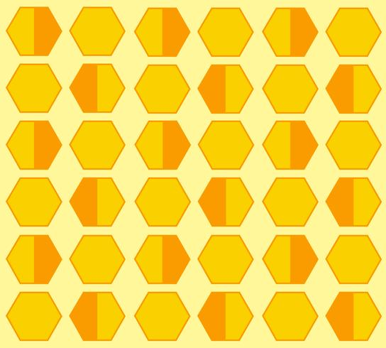 bee hive hexagon pastel cartoon background