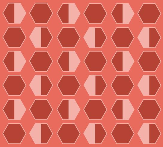Bienenstock Hexagon Pastell Cartoon Hintergrund