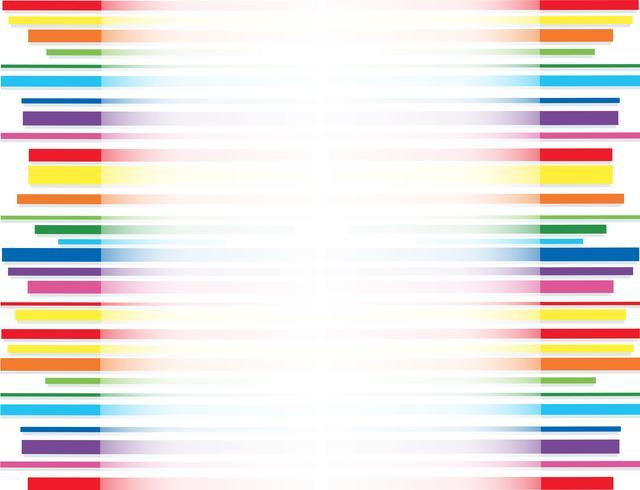 rainbow line abstract art background  vector