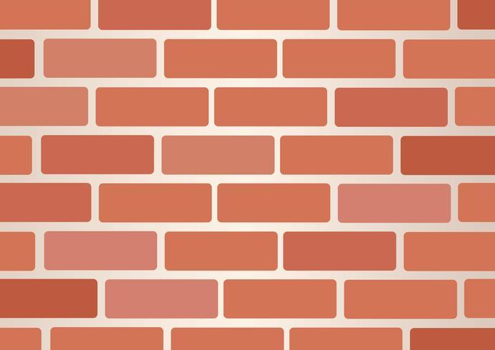 Wall of bricks background art vector